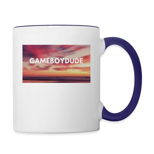GameBoyDude merch store - Contrast Coffee Mug