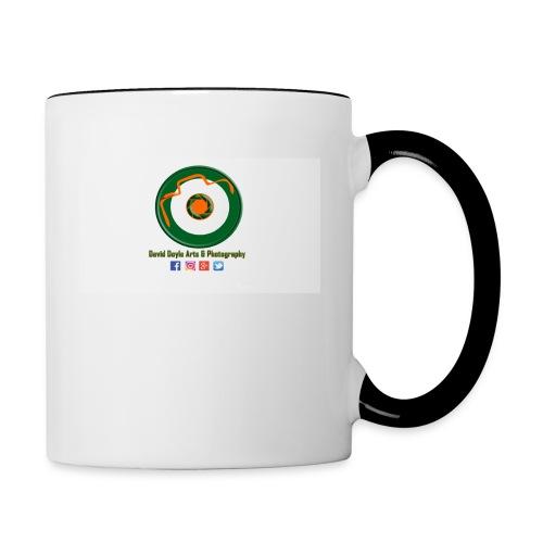 David Doyle Arts & Photography Logo - Contrast Coffee Mug