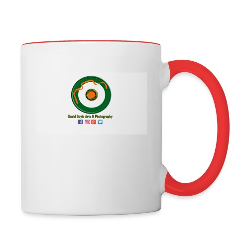 David Doyle Arts & Photography Logo - Contrast Coffee Mug