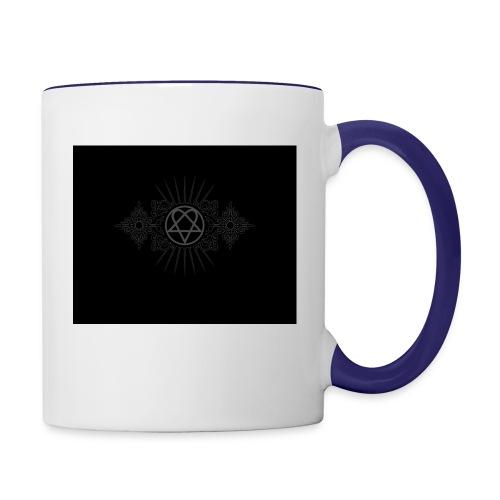 him - Contrast Coffee Mug