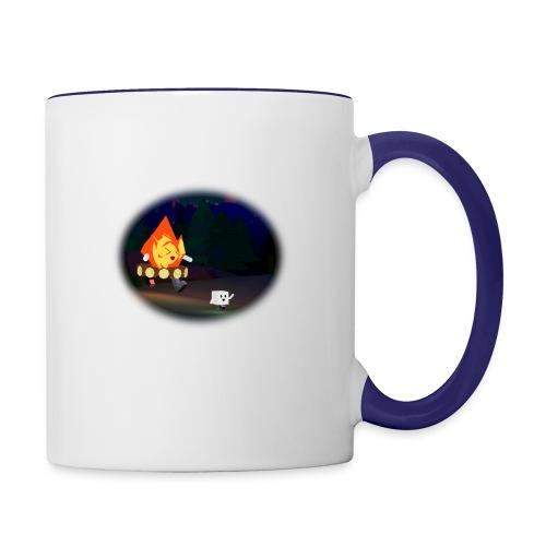'Round the Campfire - Contrast Coffee Mug