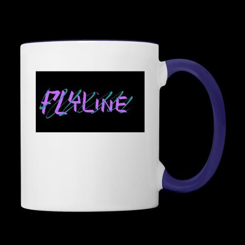 Flyline fun style - Contrast Coffee Mug