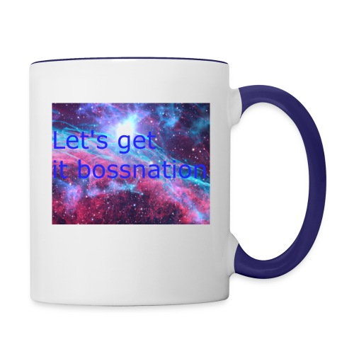 boss360 merch - Contrast Coffee Mug