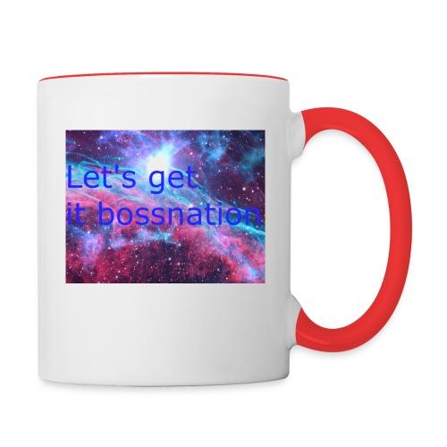 boss360 merch - Contrast Coffee Mug