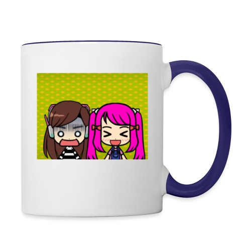 Phone case merch of jazzy and raven - Contrast Coffee Mug