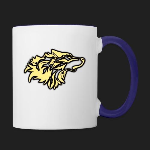 wolfepacklogobeige png - Contrast Coffee Mug