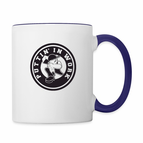 Puttin' In Work Apparel - Contrast Coffee Mug