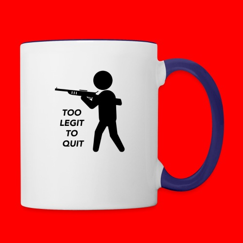 OxyGang: Too Legit To Quit Products - Contrast Coffee Mug