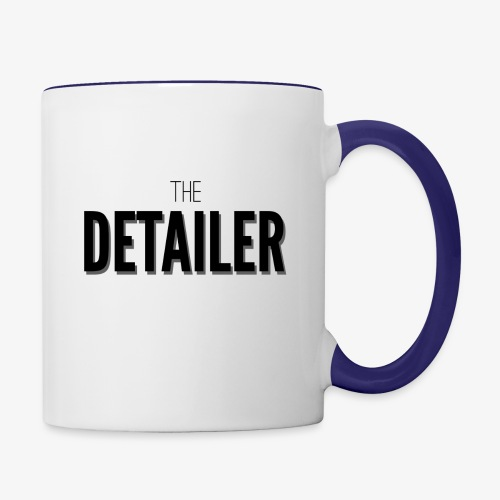 The Detailer Cup - Contrast Coffee Mug