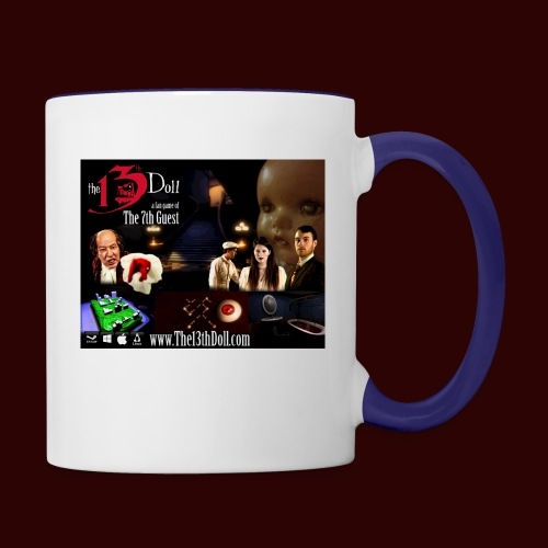 The 13th Doll Cast and Puzzles - Contrast Coffee Mug