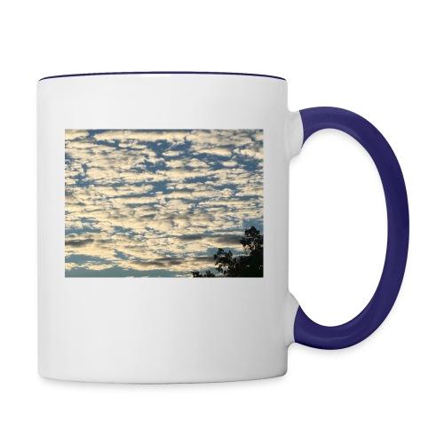 Clouds - Contrast Coffee Mug