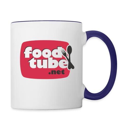 FoodTube - Contrast Coffee Mug