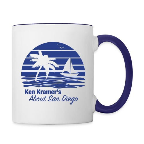 Ken's Awesome Monochrome Logo - Contrast Coffee Mug