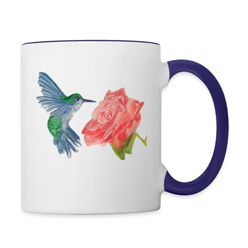 Hummingbird - Contrast Coffee Mug