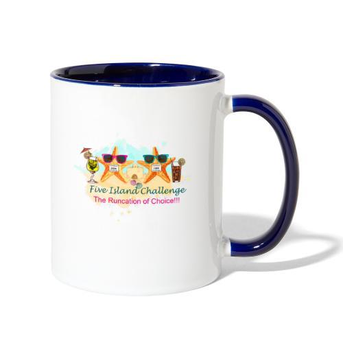 Five Island Challenge - Contrast Coffee Mug