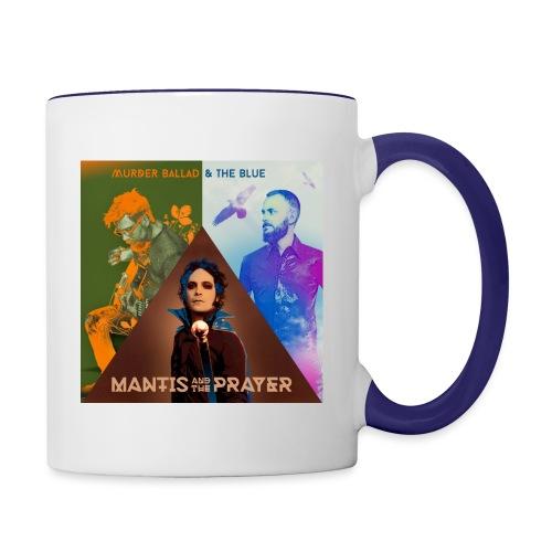 Murder Ballad & The Blue - Contrast Coffee Mug