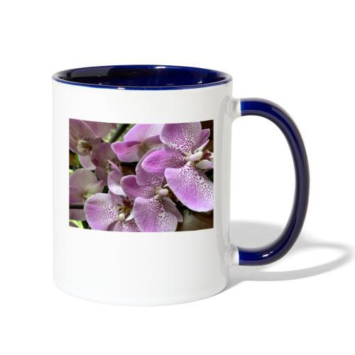 Purple Flower Beauties - Contrast Coffee Mug