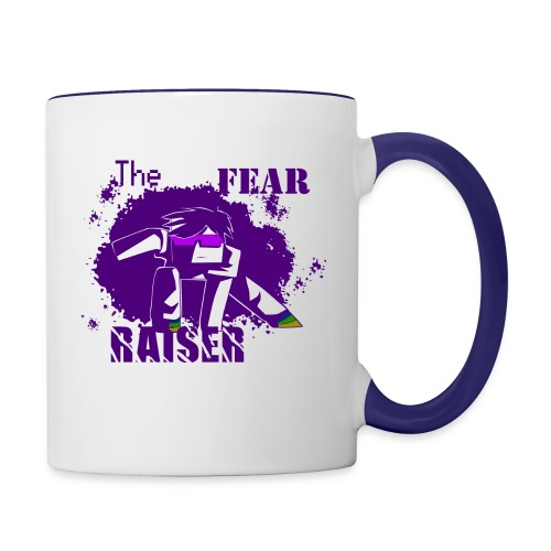 fear epic tee - Contrast Coffee Mug