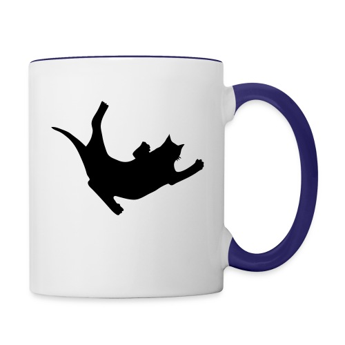 Fly Cat - Contrast Coffee Mug