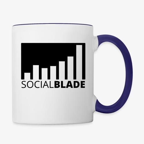 SB Blackout Logo - Contrast Coffee Mug