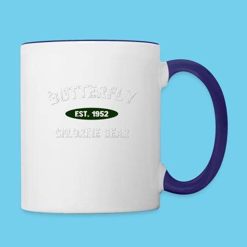 Butterfly est 1952-M - Contrast Coffee Mug