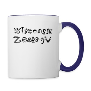 Wisconsin Zoology - Contrast Coffee Mug