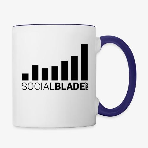 Socialblade (Dark) - Contrast Coffee Mug