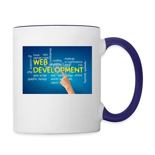 web development design - Contrast Coffee Mug