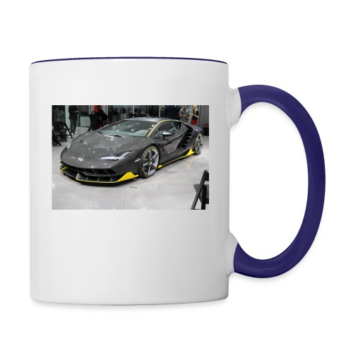 Lamborghini Centenario front three quarter e146585 - Contrast Coffee Mug