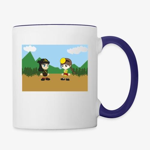 Digital Pontians - Contrast Coffee Mug
