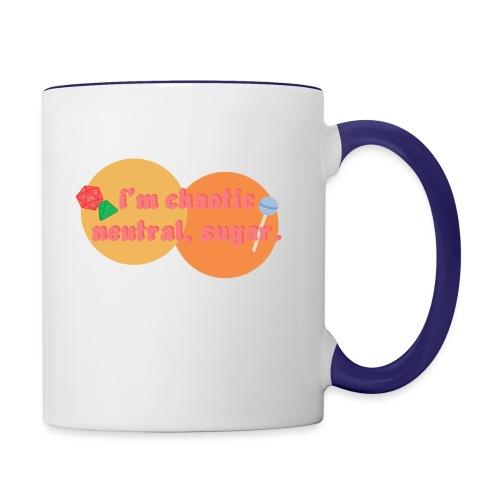 Chaotic Neutral - Contrast Coffee Mug