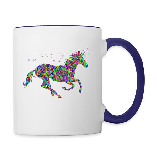 unicorn - Contrast Coffee Mug