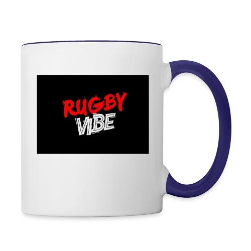 Rugby Vibe 1.0 - Contrast Coffee Mug