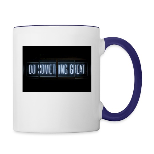 Do Something Great - Contrast Coffee Mug