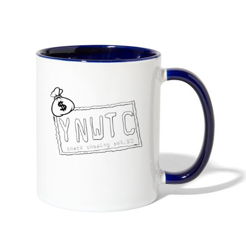 YNWTC LOGO - Contrast Coffee Mug