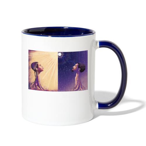Twin Flames - Contrast Coffee Mug