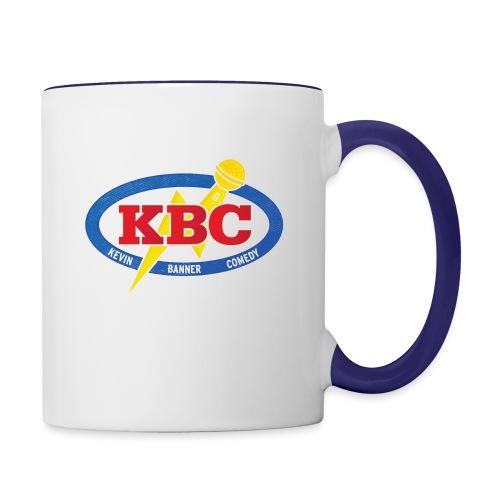 Kevin Banner Comedy - Contrast Coffee Mug