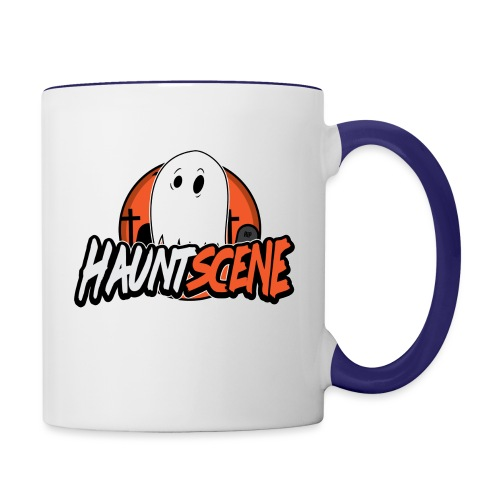 HauntScene Modern Logo 2020 - Contrast Coffee Mug
