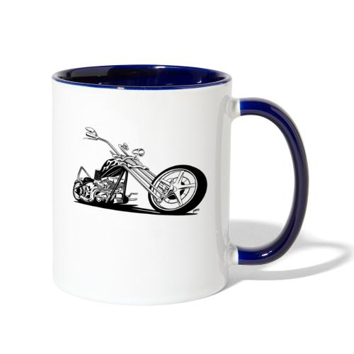 Custom American Chopper Motorcycle - Contrast Coffee Mug