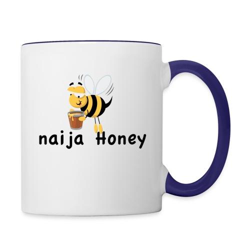 naija honey... - Contrast Coffee Mug