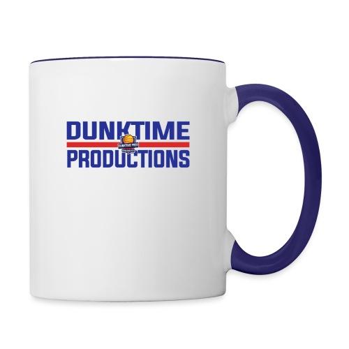DUNKTIME Retro logo - Contrast Coffee Mug