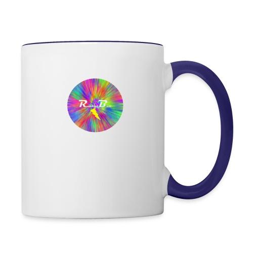 RocketBull Color - Contrast Coffee Mug