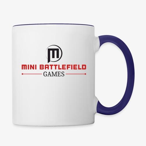 Mini Battlefield Games Logo - Contrast Coffee Mug