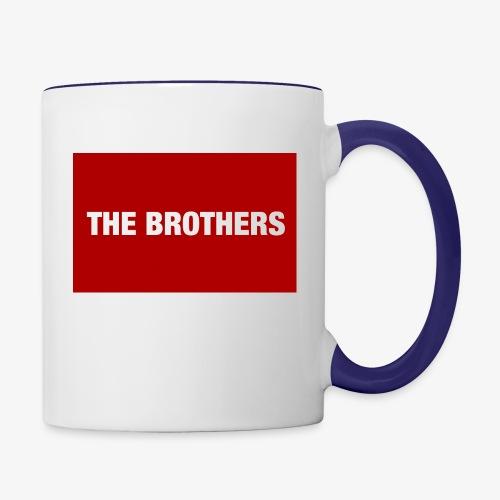 The Brothers - Contrast Coffee Mug