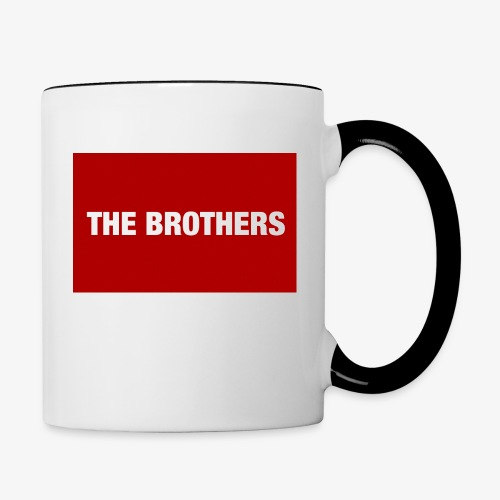 The Brothers - Contrast Coffee Mug
