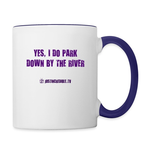 Down by the river - Contrast Coffee Mug