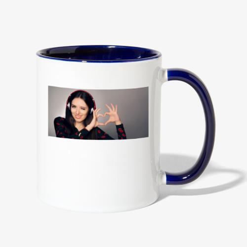 hit music radio - Contrast Coffee Mug