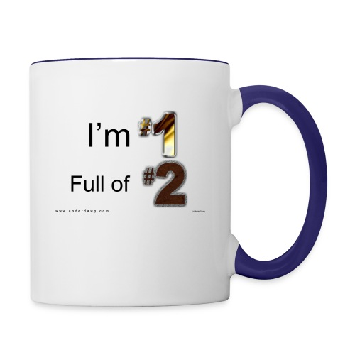 1 Full of 2 - Contrast Coffee Mug