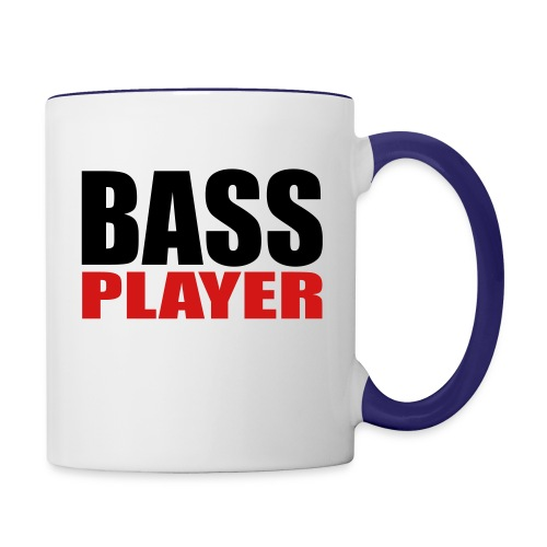 Bass Player - Contrast Coffee Mug