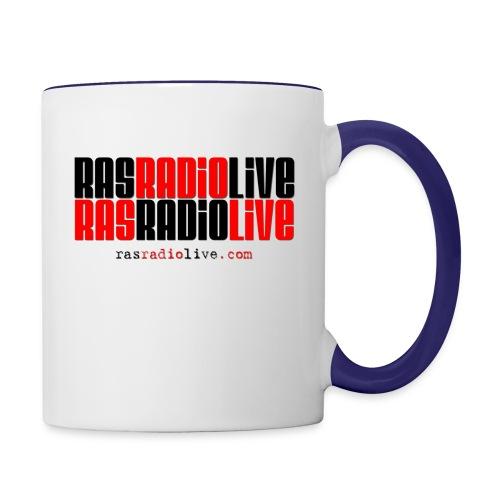 rasradiolive png - Contrast Coffee Mug